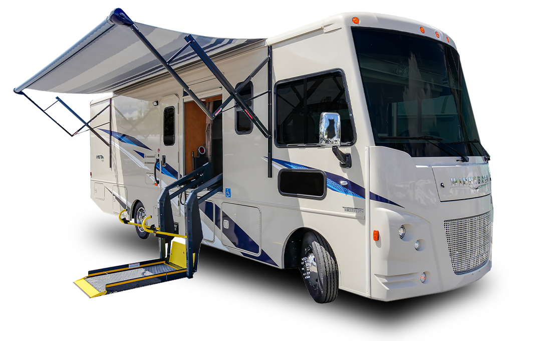 A-Class Wheelchair Accessible Motorhome