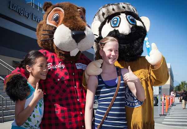 Bucky At Langley International Festival