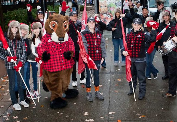 Bucky At Grey Cup Parade