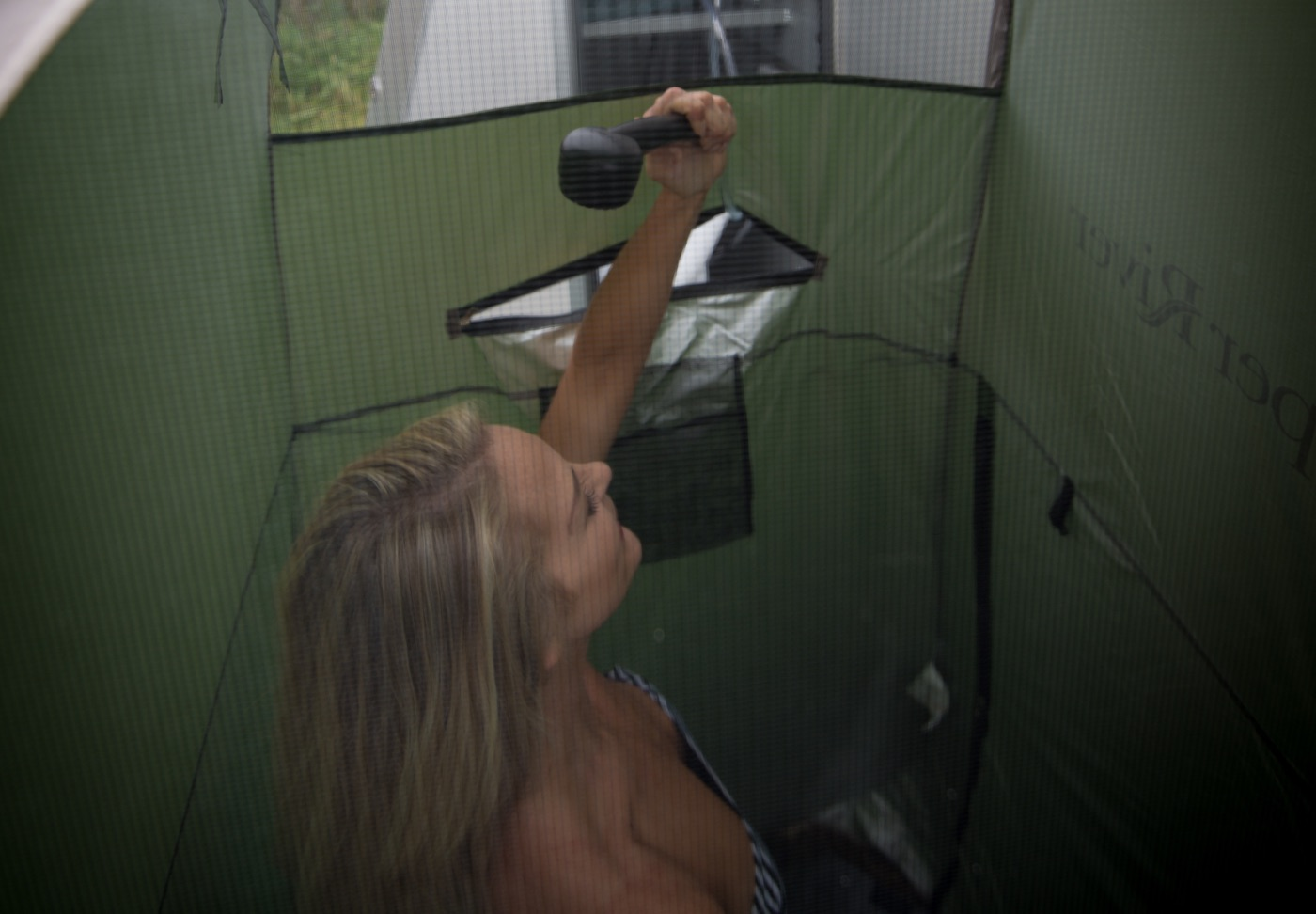 OUTSIDE SHOWER - COVER is an EXTRA COST