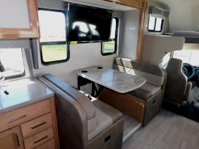 BOOTH DINETTE with CUPHOLDERS and TV