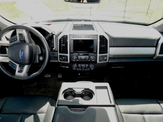F350 LEATHER FRONT SEATS and CONSOLE