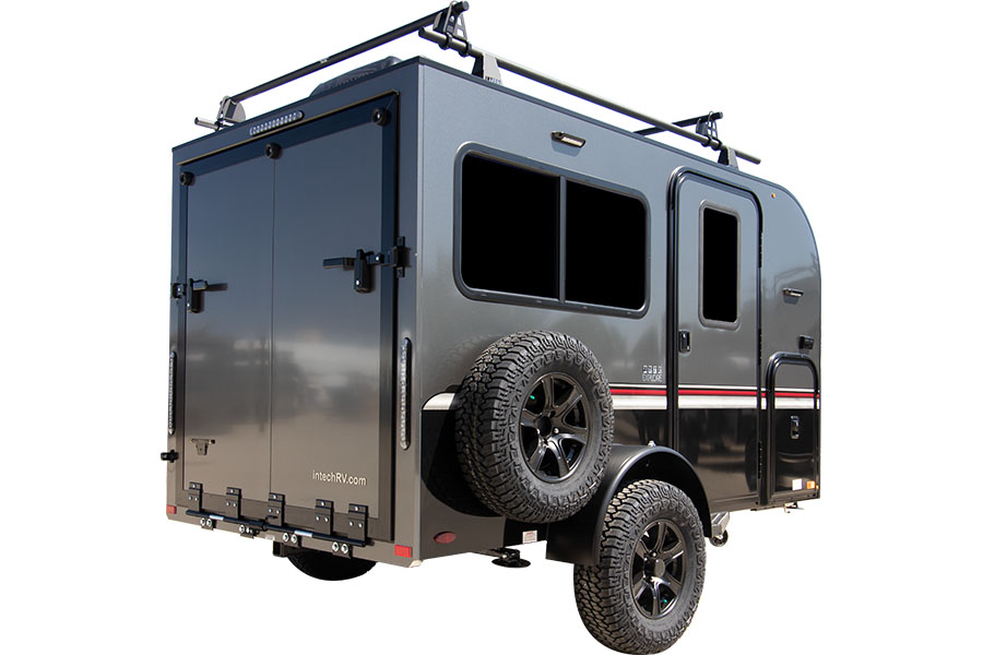 EXTERIOR ENTRY SIDE with SPARE TIRE and REAR DOORS - GENERIC IMAGE