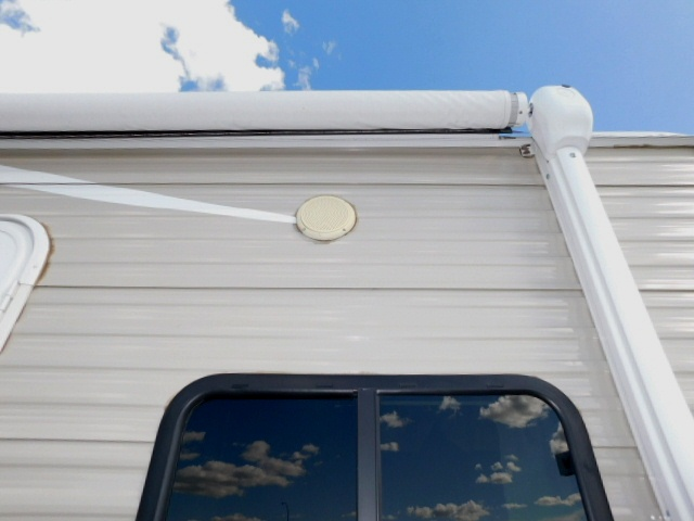AWNING and EXTERIOR SPEAKERS