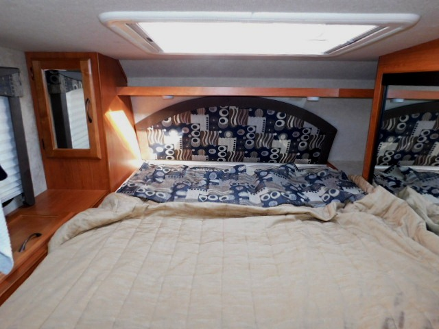 BED AREA with SKYLIGHT