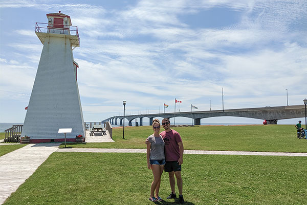 Luke & Alysha Confederation Bridge