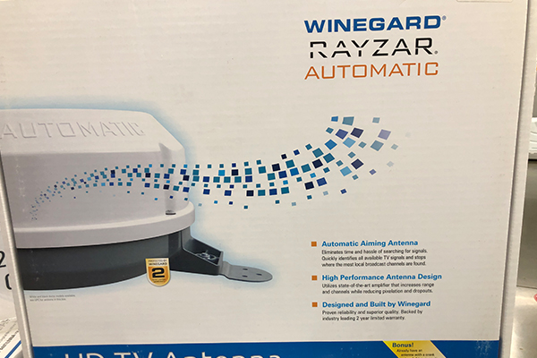 WINEGARD RAYZAR AUTOMATIC