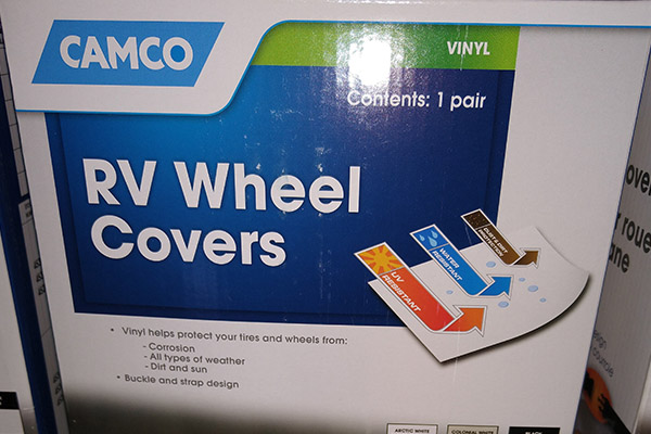CAMCO WHEEL COVERS