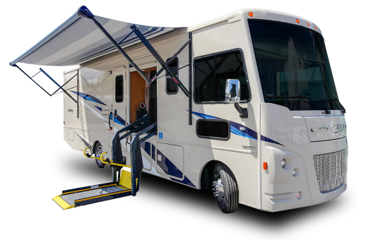 A Class Wheelchair Accessible Motorhome Fraserway Rv