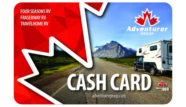 Adventurer Group Cash Card