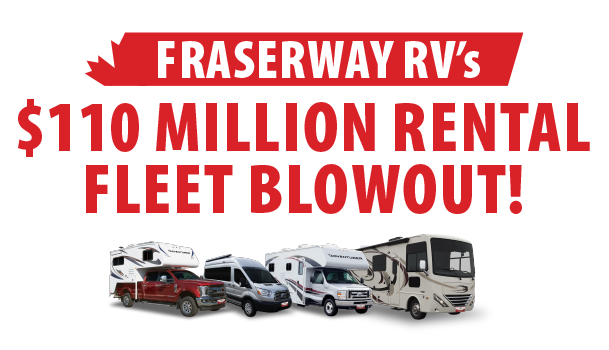 $110 Million Rental Fleet Blowout