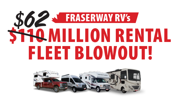 Fraserway RV Fleet Sale