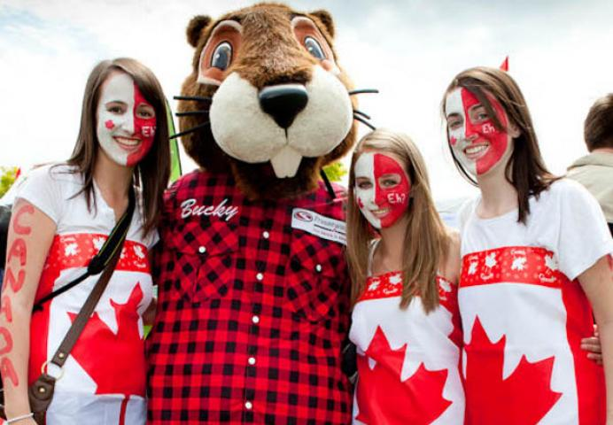 Canada Day With Bucky