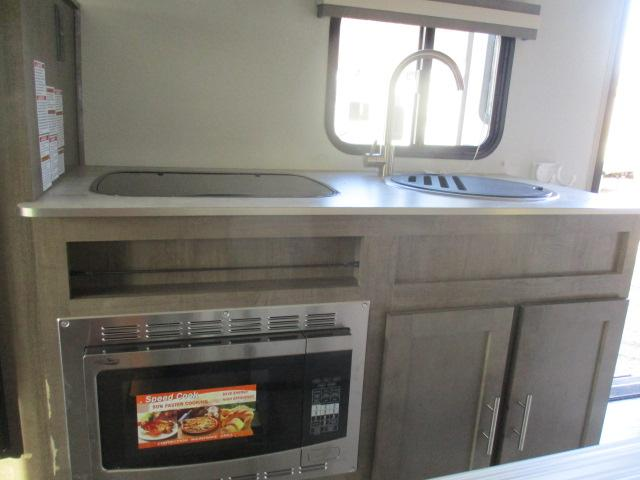 Stainless steel convection microwave