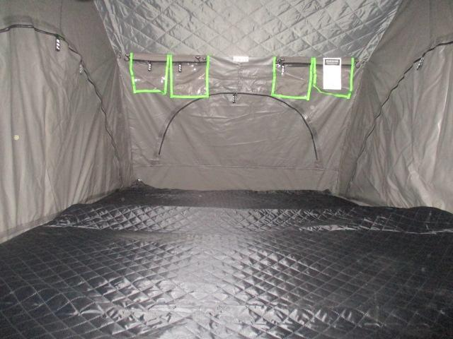Inside roof tent