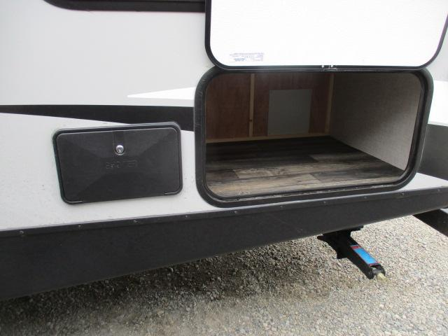 Rear storage with outdoor storage