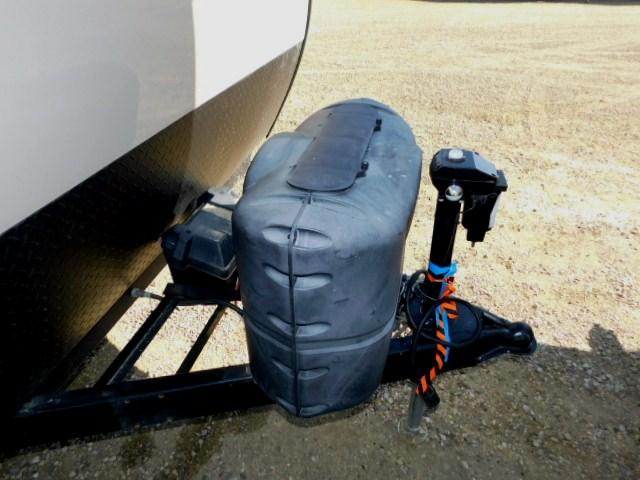 HITCH, PROPANE COVER, BATTERY CONTAINER