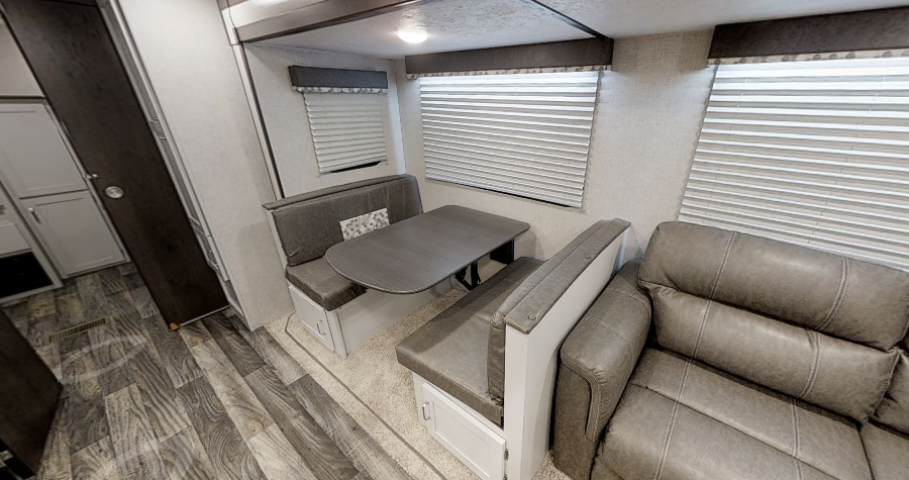 BOOTH DINETTE with STORAGE BELOW