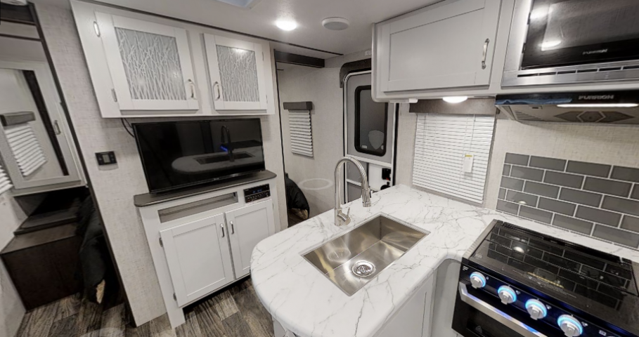 KITCHEN SINK and ENTERTAINMENT CENTER