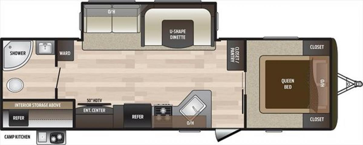2019 Keystone HIDEOUT 27RBS For Sale In Edmonton
